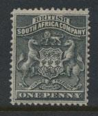 British South Africa Company / Rhodesia  SG 1 Mint Hinged