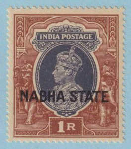 INDIA - NABHA STATE 81 MINT NEVER HINGED OG ** NO FAULTS EXTRA FINE !
