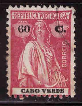 Cape Verde Scott 183o Used Ceres stamp
