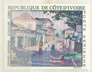 Ivory Coast =  Scott # C37 - MH