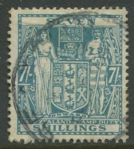 STAMP STATION PERTH New Zealand #AR80 Postal Fiscal Issue  Used 1940 CV$7.00