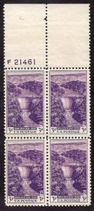 774 Mint,OG,NH... Block of 4 with Plate#... SCV $1.40