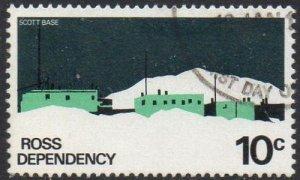 Ross Dependency 1979 10c Scott Base used