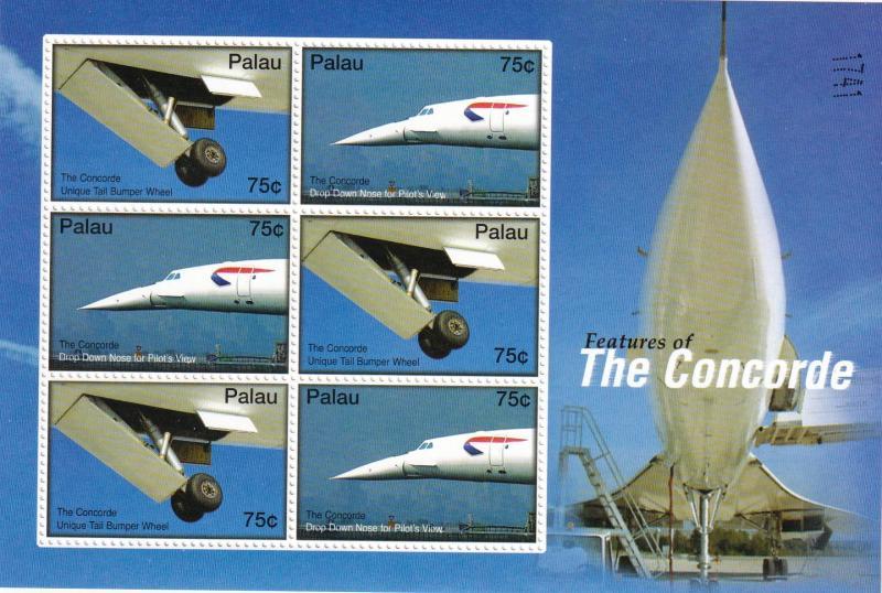 Palau #869z  MNH Souvenir Sheet CV $18.00  (A19824L)