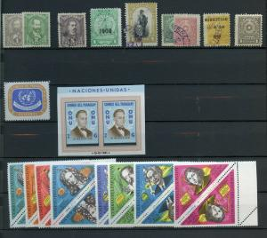 PARAGUAY MINT AND USED SELECTION STARTING WITH CLASSICS HIGH CATALOGUE VALUE