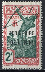 Inini; 1932; Sc. # 2; */MLH Single Stamp