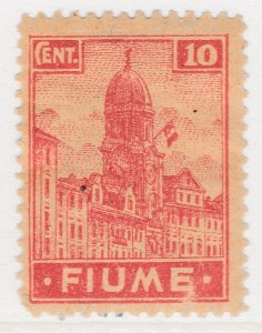 Fiume 1919 10c Very Fine MH* Stamp A21P11F4948