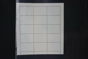 London 1980 Intl Stamp Exhibition House Questa GB UK reprints Philatelic sheet