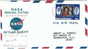 73898 - BERMUDA - Postal History - SPECIAL Cover 1973 - SPACE Astro  SKYLAB 4