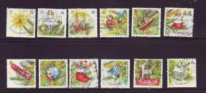 Guernsey Sc 421 1989 Christmas stamps used