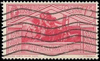 Italy - 253 - Used - SCV-12.00