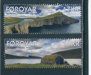 Faroe Islands 673-4  MNH