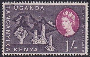 Kenya Uganda and Tanganyika 1960 SG192 Used
