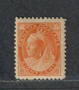 Canada Sc#82 M/H/F-VF+, Cv. $375