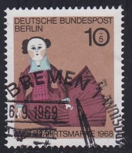 Germany # B438, 19th Century Doll, Used