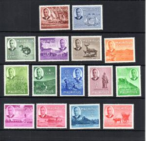 Mauritius 235-249 MH