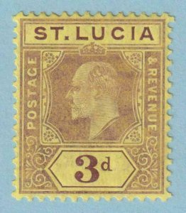 ST LUCIA 60  MINT HINGED OG * NO FAULTS EXTRA FINE !