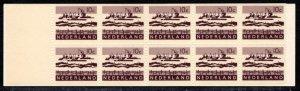Netherlands Scott # 403a, mint nh, cpl. stamp booklet, se-tenant
