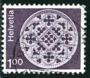 SWITZERLAND #569 , USED - 1974 - SWIT015