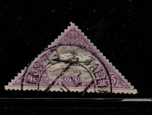 Estonia Sc C18 1925 45m  monoplane Airmail  stamp used