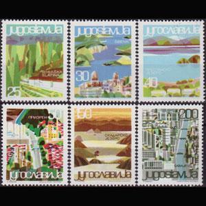 YUGOSLAVIA 1965 - Scott# 779-84 Views Set of 6 NH