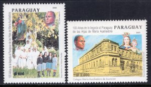 Paraguay 2636-2637 MNH VF