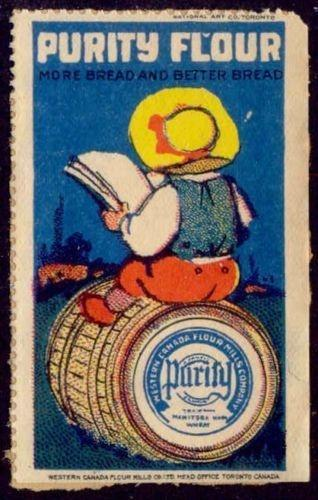Canada -PURITY FLOUR Advertising Poster Stamp #13