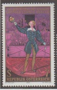 Austria Scott #1856 Stamp - Mint NH Single