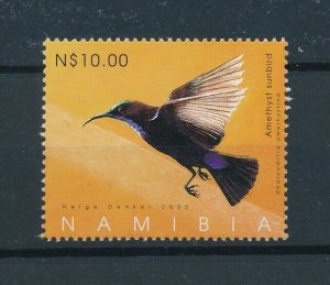 [103000] Namibia 2005 Bird vogel oiseau sunbird From sheet MNH
