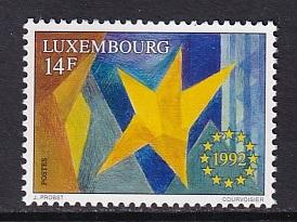 Luxembourg  #880  MNH  1992  single european market