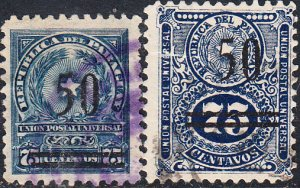 Paraguay #241-242 Used