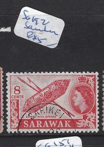 SARAWAK (P1209B)  QEII 8  SG 192  VFU