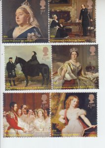 2019  Great Britain Queen Victoria (3 Pair) (Scott NA) MNH