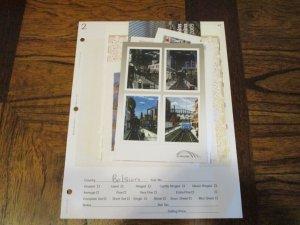 Belgium Souvenir Sheets #2 - (LB8) WDWPhilatelic
