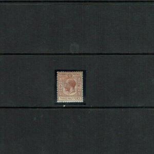 Bahamas: 1921 Three Half Pence Key Plate definitive, SG 117, Mint
