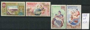 265633 LAOS 1958 year MNH stamps set UNESCO
