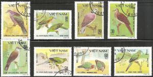Vietnam 1124-31 - Cto - Doves (Cpl) (1981) (cv $4.88)