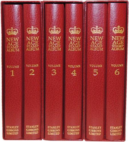 Stanley Gibbons Limited New Age Stamp Albums Reign of Queen Elizabeth II