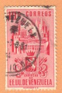 VENEZUELA SC# 486 **USED** 1951  10c  SEE SCAN
