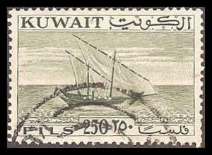Kuwait 170 Used VF