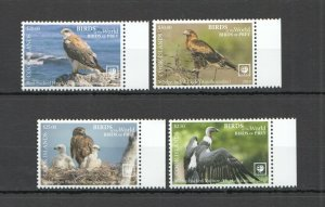I780 2019 EXCLUSIVE COOK ISLANDS FAUNA BIRDS OF PREY SET !!! NOMINAL 49 $ MNH