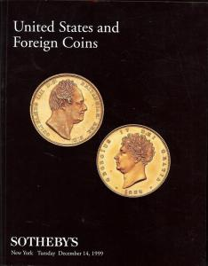 Sotheby's: Sale # 7377  -  United States and Foreign Coin...