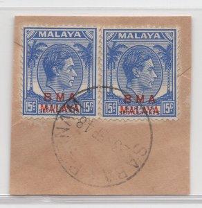 Malaya BMA - 1945 - SG 12 - Fine Used (Sabak Bernam #1 Cancellation)