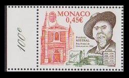 Monaco Frederic Mistrals Nobel Prize for Literature 2004 MNH SG#2664 MI#2702