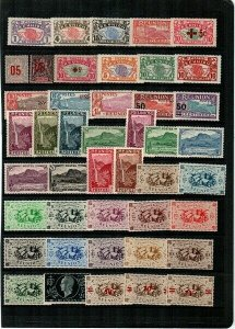 Reunion - Collection of all mint stamps (Catalog Value $123.00) [TD1]