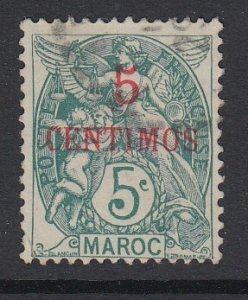 FRENCH MOROCCO, Scott 15, used