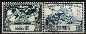 Southern Rhodesia #71-2 (X1229)