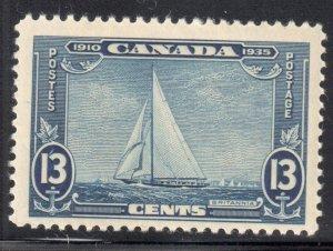 Canada #216i VF NH *The rare shilling Mark Variety Error* C$1350,00