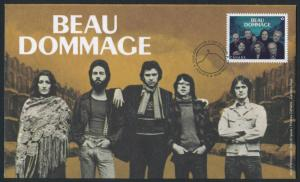 Canada 2658 on FDC Beau Dommage, Music, Recording artists