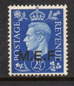 Great Britain M E F Sc 3 1942 2 1/2d G VI stamp mint NH